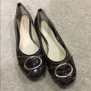 Brown Reaction Kenneth Cole Flats